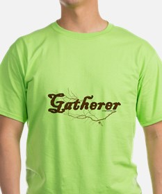 Gatherer, scavenger, vegetarian T-Shirt