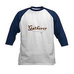 Gatherer, scavenger, vegetarian Kids Baseball Jers