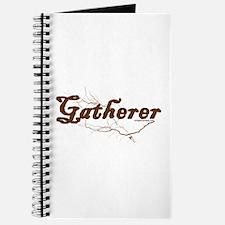 Gatherer, scavenger, vegetarian Journal