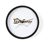 Gatherer, scavenger, vegetarian Wall Clock