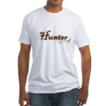 Hunter, meat eater, carnivore Fitted T-Shirt