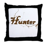 Hunter, meat eater, carnivore Throw Pillow