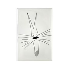 Schnauzer Cartoon #1 Rectangle Magnet (100 pack)