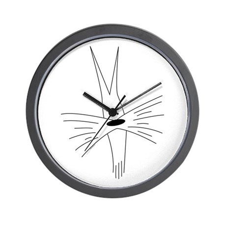 Schnauzer Cartoon #1 Wall Clock
