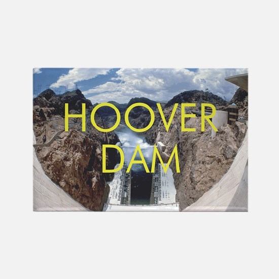 ABH Hoover Dam Rectangle Magnet