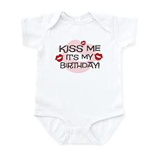 Smooches Kiss Me Birthday Infant Bodysuit
