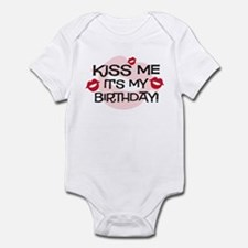 Smooches Kiss Me Birthday Infant Bodysuit