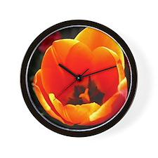 Spring Tulip Wall Clock