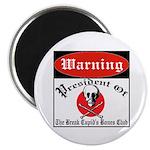 Anti-Valentine Club Magnet