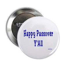 """Happy Passover Y'All 2.25"""" Button (10 pack)"""