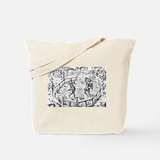 Single Combat Tote Bag