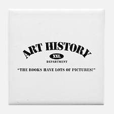 Art History Majors Tile Coaster