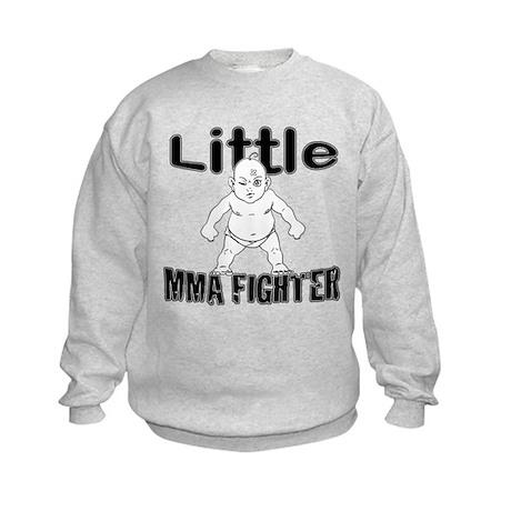 Little MMA Fighter - Bad Baby Kids Sweatshirt