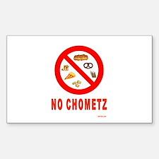 No Chometz Passover Decal