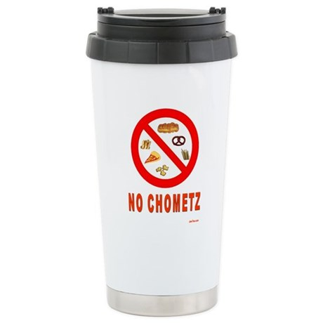 No Chometz Passover Stainless Steel Travel Mug