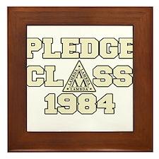 revenge of the nerds pledge c Framed Tile