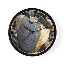 Acadia N.P. Sea Rocks Wall Clock
