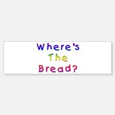 Missing Bread Passover Bumper Bumper Sticker