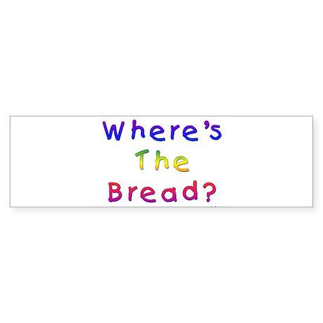 Missing Bread Passover Sticker (Bumper)