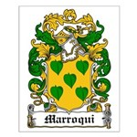 Marroqui Coat of Arms Small Poster