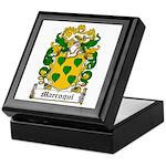 Marroqui Coat of Arms Keepsake Box