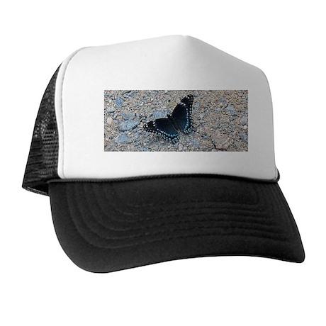 BLUE SWALLOWTAIL Trucker Hat