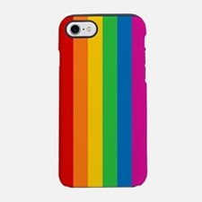 Rainbow Stripe iPhone 7 Tough Case