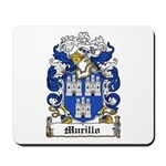 Murillo Coat of Arms Mousepad
