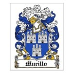 Murillo Coat of Arms Small Poster