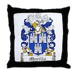 Murillo Coat of Arms Throw Pillow