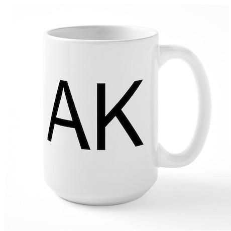 AK - ALASKA Large Mug