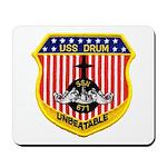 USS DRUM Mousepad