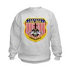 USS DRUM Kids Sweatshirt