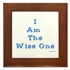 The Wise One Passover Framed Tile