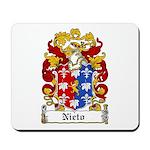 Nieto Coat of Arms Mousepad