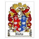 Nieto Coat of Arms Small Poster