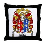 Nieto Coat of Arms Throw Pillow