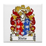 Nieto Coat of Arms Tile Coaster