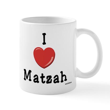 I Love Matzah Mug