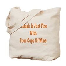 Matzah and Wine Passover Tote Bag