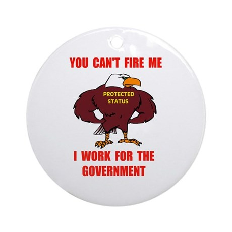 GET A REAL JOB Ornament (Round)