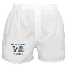 GET A REAL JOB Boxer Shorts