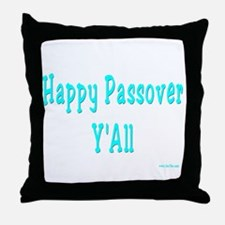 Happy Passover Y'All Throw Pillow