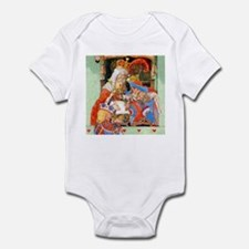 TRIAL OF THE KNAVE OF HEARTS Infant Bodysuit