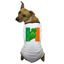 irish flag land flame Dog T-Shirt