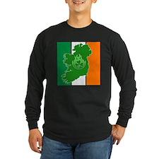 irish flag land flame T