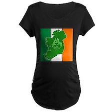 irish flag land flame T-Shirt