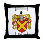 Andrews Coat of Arms Throw Pillow