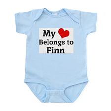 My Heart: Finn Infant Creeper
