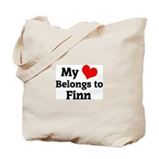 My Heart: Finn Tote Bag